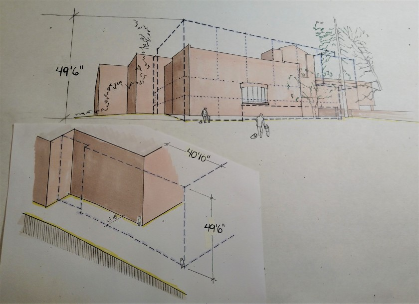 Perspective Drawing of Scale Height SAAM Expansion